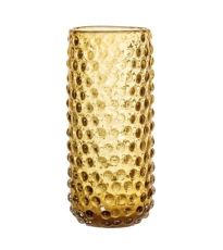 Brown Textured Glass Vase