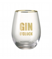 Gin O' Clock Glass