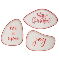 Red Joy Plate 3 Assorted