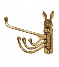 Gold Rabbit Multi Arm Hook