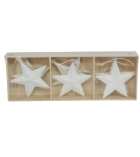 White Stars Box Of 6