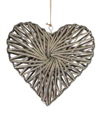 Willow Heart Decoration - Small