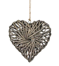 Willow Heart Decoration - Large