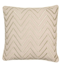 Gold Chevron Cushion