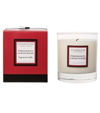 Pomegranate And Spiced Woods Candle