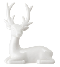 Small Porcelain Reindeer
