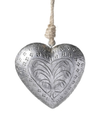 Hanging Metal Heart