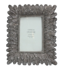 Light Pewter Fetaher Frame