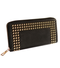 Stud Purse Black