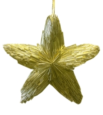 Champagne Star Wreath Large