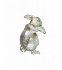 Silver Rabbit Pot Hanger
