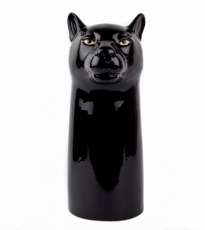 Black Panther Flower Vase