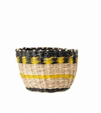 Mini Yellow Black Basket