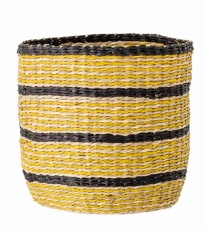 Xlarge Yellow Black Basket