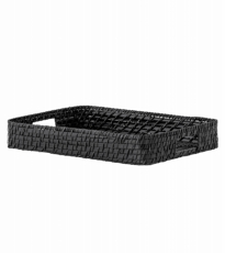 Black Bambo Tray Large