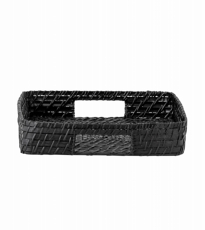 Black Bamboo Tray Small